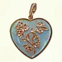 Сердце в гелиотисе